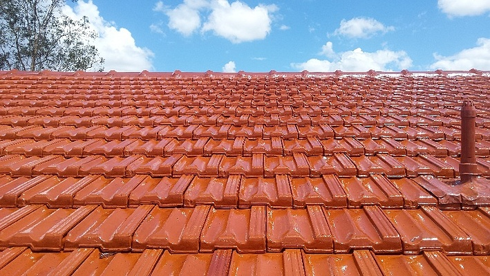 Here's the nitty gritty of restoring old tile roofs